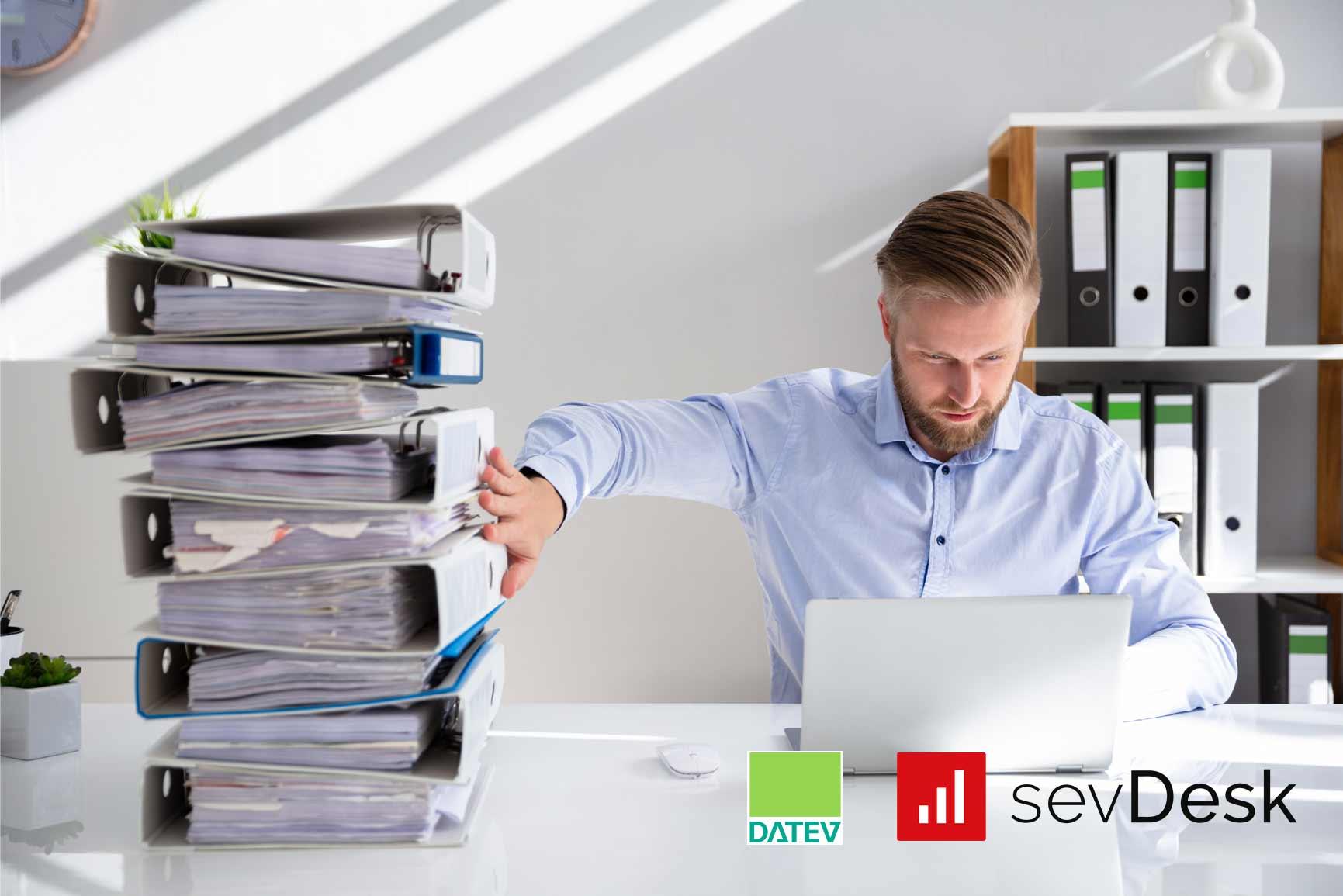 Buchhaltung mit sevDesk und DATEV Unternehmen online