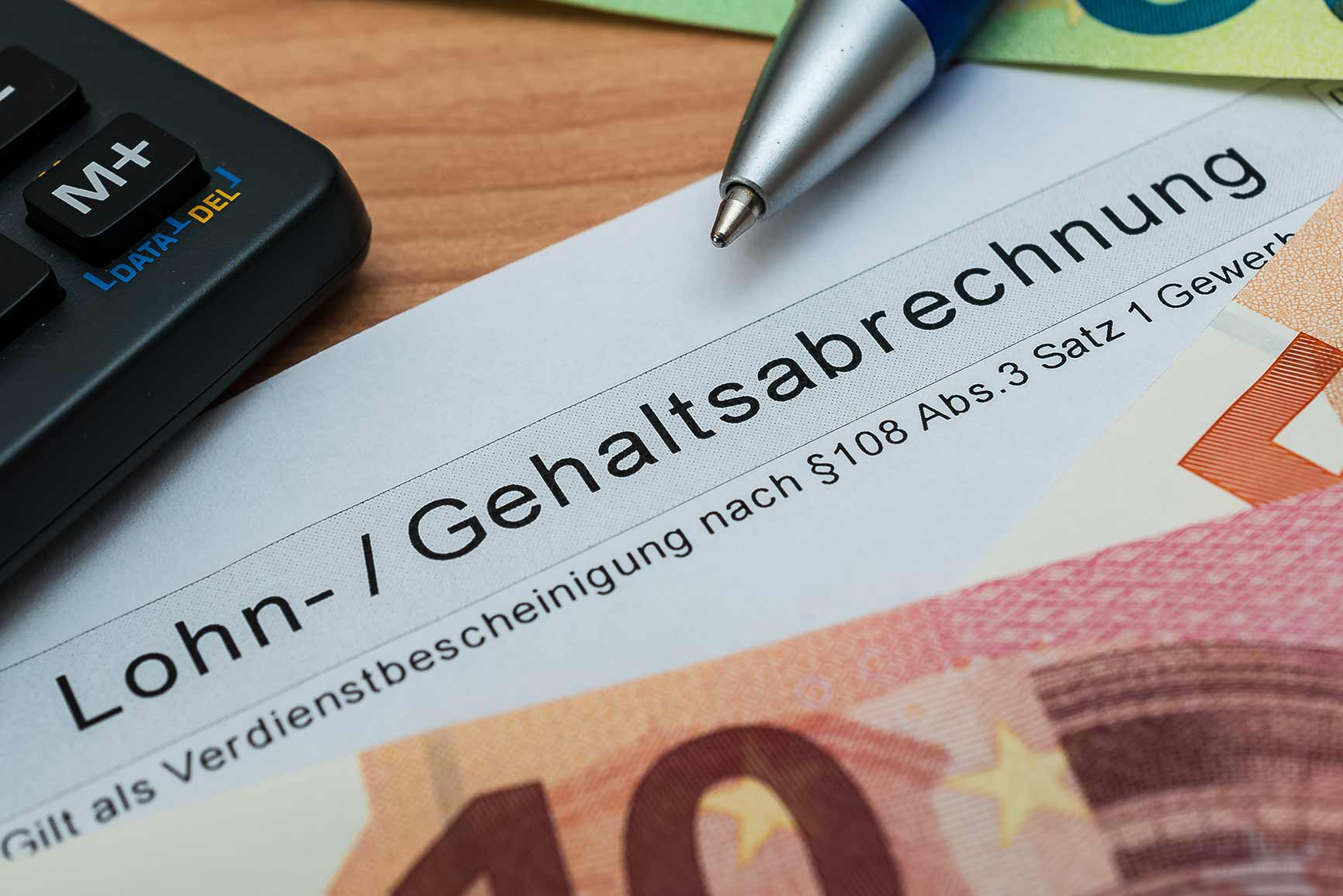 Lohn- und Gehaltsabrechnung online